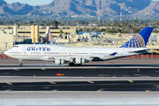 N182UA - United Airlines Boeing 747-400 aircraft