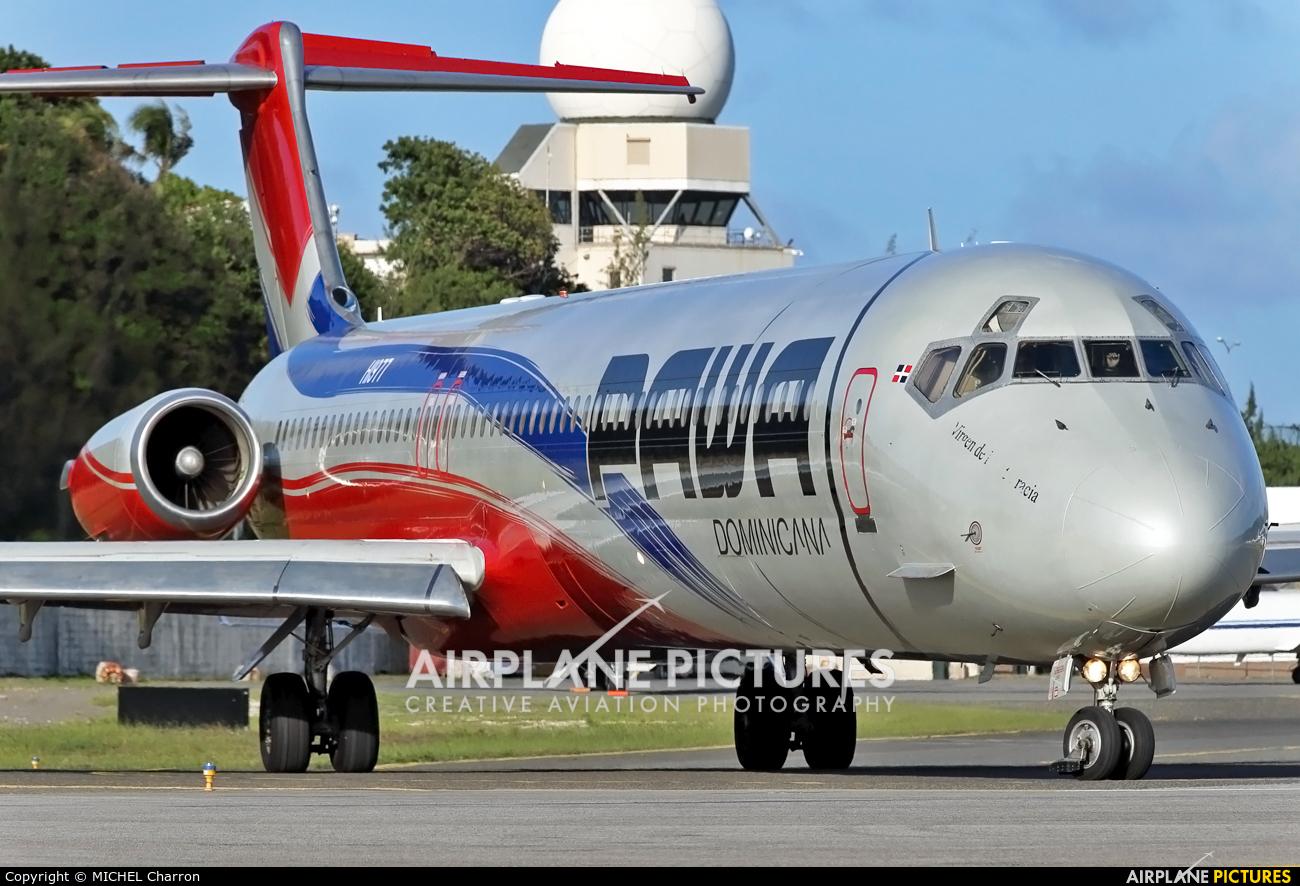 PAWA Dominicana HI977 aircraft at Sint Maarten - Princess Juliana Intl