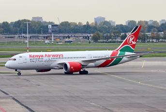 5Y-KZE - Kenya Airways Boeing 787-8 Dreamliner