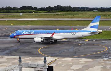 LV-CMA - Austral Lineas Aereas Embraer ERJ-190 (190-100)