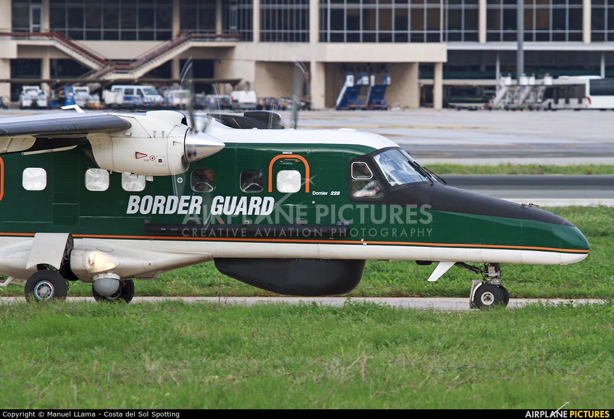 Finland - Border Guard OH-MVO aircraft at Málaga