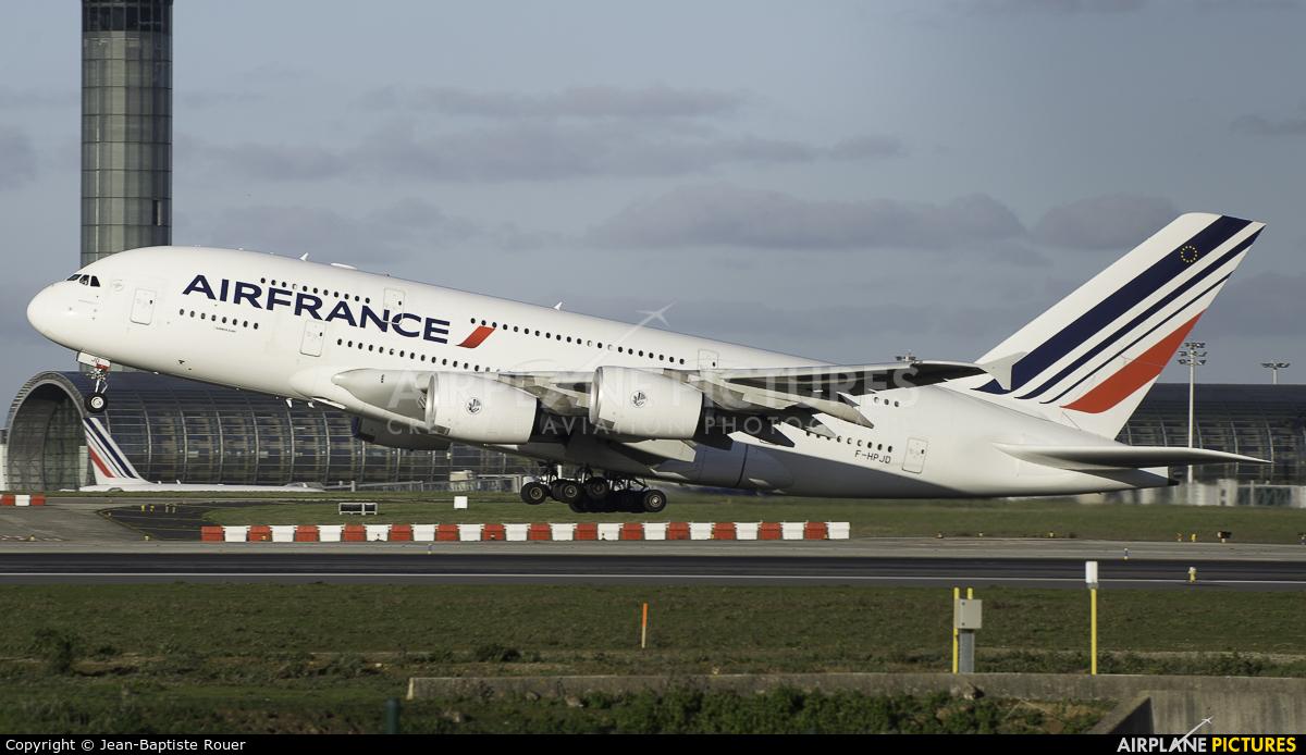 Air France F-HPJD aircraft at Paris - Charles de Gaulle