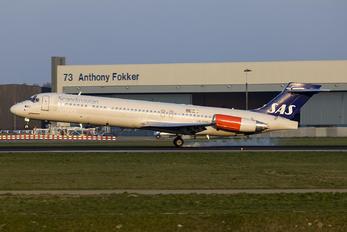 LN-RMP - SAS - Scandinavian Airlines McDonnell Douglas MD-87