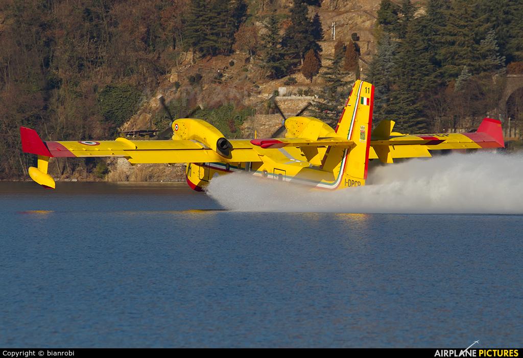 Italy - Vigili del Fuoco I-DPCP aircraft at Off Airport - Italy