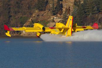I-DPCP - Italy - Vigili del Fuoco Canadair CL-415 (all marks)