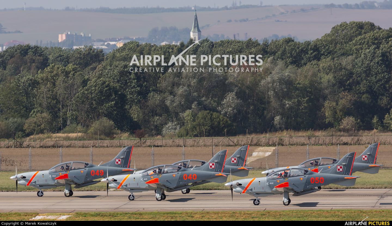 "Poland - Air Force ""Orlik Acrobatic Group"" 049 aircraft at Ostrava Mošnov"
