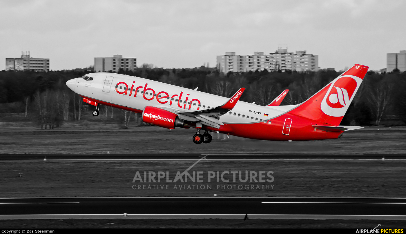 Air Berlin D-AHXF aircraft at Berlin - Tegel