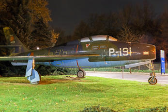 P-191 - Netherlands - Air Force Republic F-84F Thunderstreak