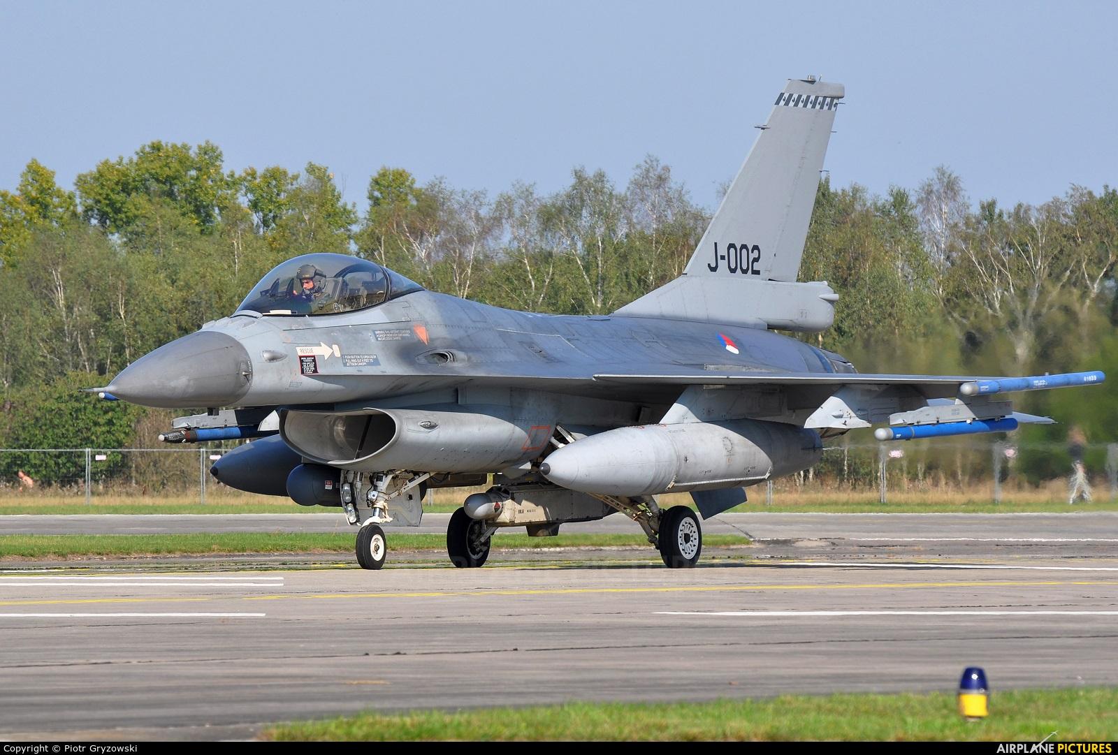 Netherlands - Air Force J-002 aircraft at Hradec Králové