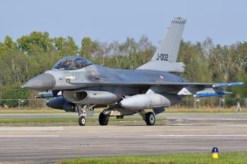 J-002 - Netherlands - Air Force General Dynamics F-16A Fighting Falcon