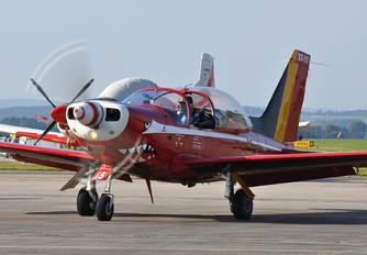 "ST-15 - Belgium - Air Force ""Les Diables Rouges"" SIAI-Marchetti SF-260"
