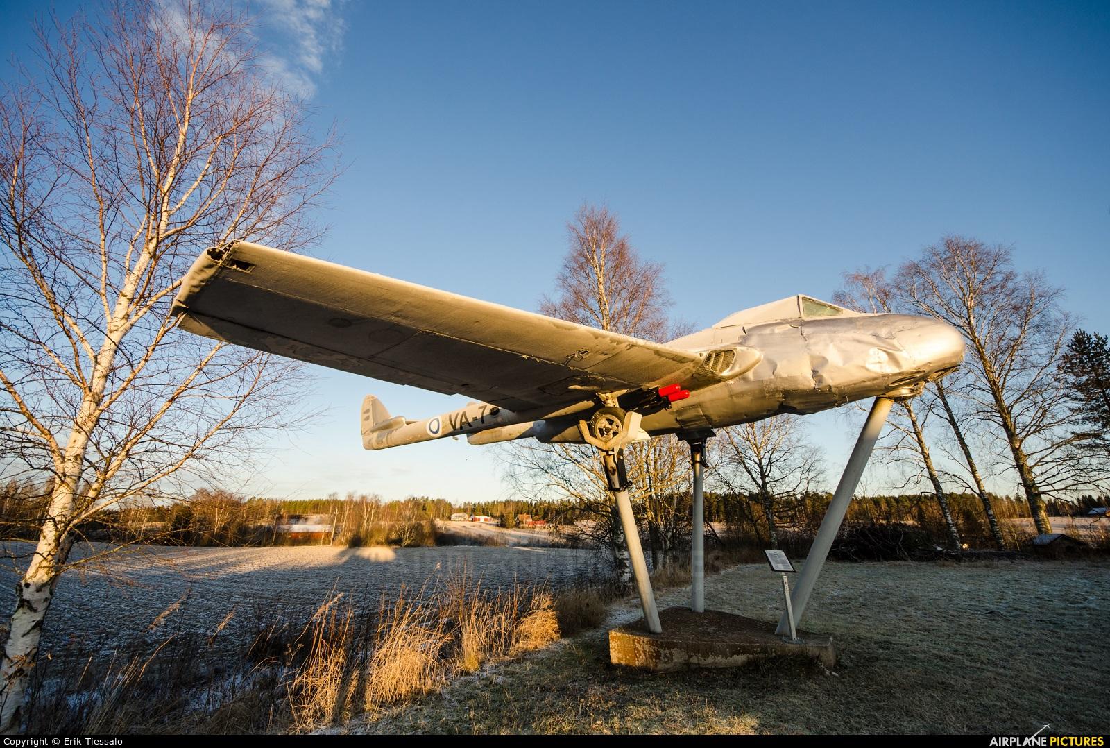 Finland - Air Force VA-7 aircraft at Off Airport - Finland