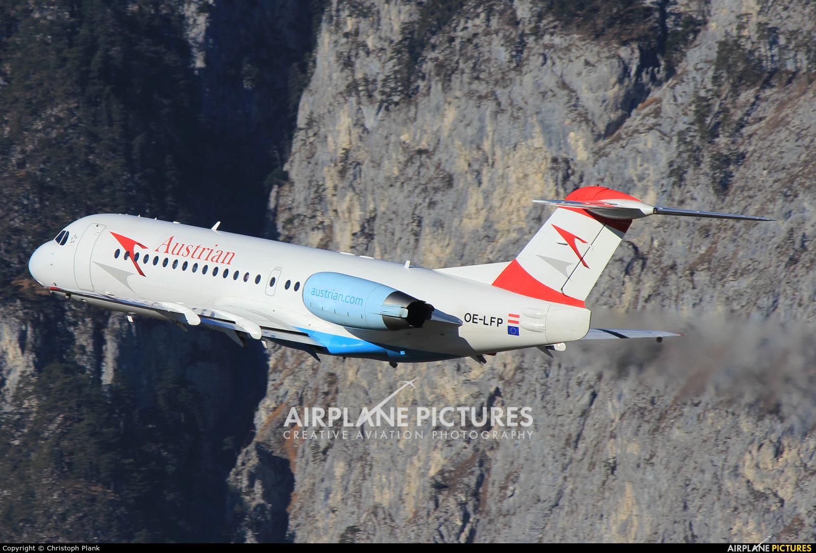 Austrian Airlines/Arrows/Tyrolean OE-LFP aircraft at Innsbruck