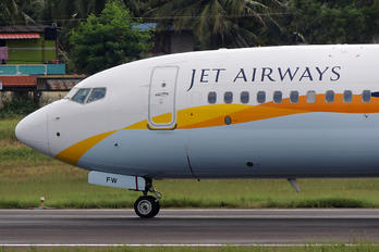 VT-JFW - Jet Airways Boeing 737-800