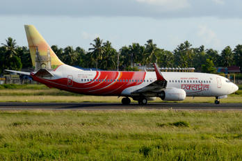 VT-AXW - Air India Express Boeing 737-800