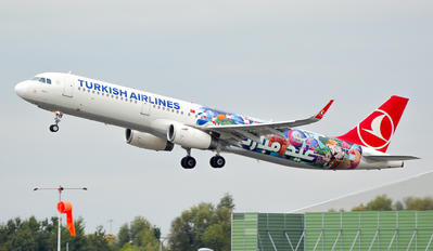 TC-JSL - Turkish Airlines Airbus A321