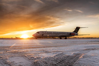 SE-DIB - SAS - Scandinavian Airlines McDonnell Douglas MD-87