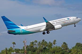 PK-GMK - Garuda Indonesia Boeing 737-800