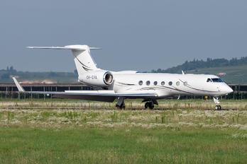 OH-GVA - Private Gulfstream Aerospace G-V, G-V-SP, G500, G550