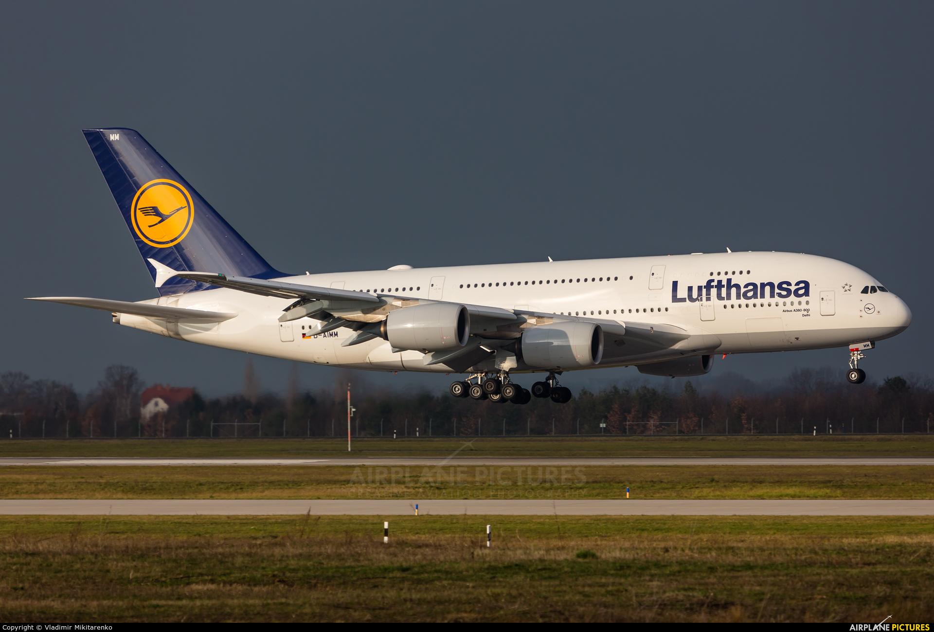 Lufthansa D-AIMM aircraft at Leipzig - Halle