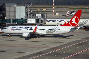 TC-JFZ - Turkish Airlines Boeing 737-800