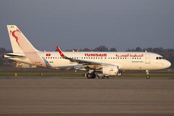 TS-IMW - Tunisair Airbus A320