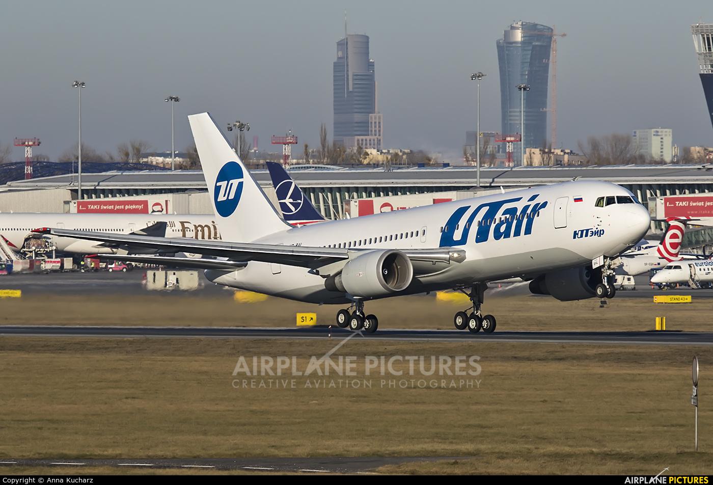UTair VP-BAL aircraft at Warsaw - Frederic Chopin