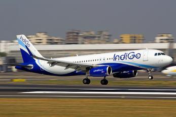 VT-IFT - IndiGo Airbus A320