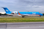First jet in Sol Lineas Aereas fleet title=