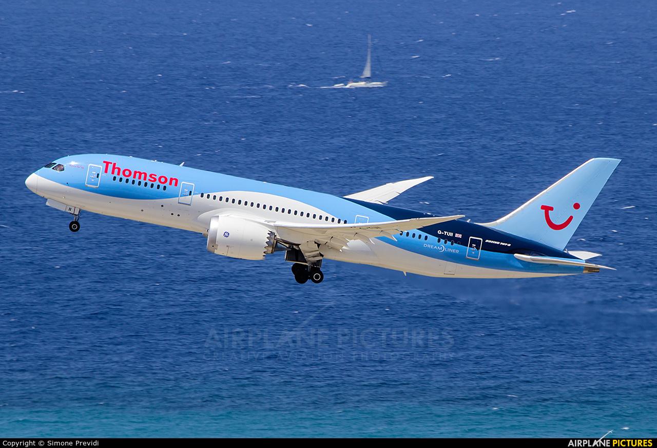 Thomson/Thomsonfly G-TUII aircraft at Rhodes - Diagoras