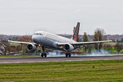 OO-TCQ - Brussels Airlines Airbus A320 aircraft