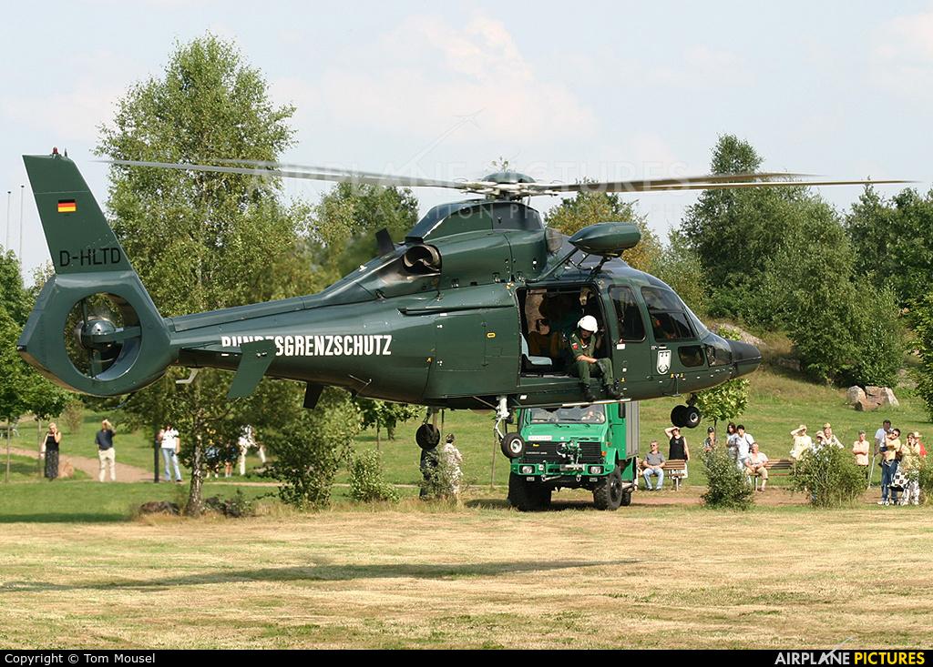 Bundesgrenzschutz D-HLTD aircraft at Off Airport - Germany