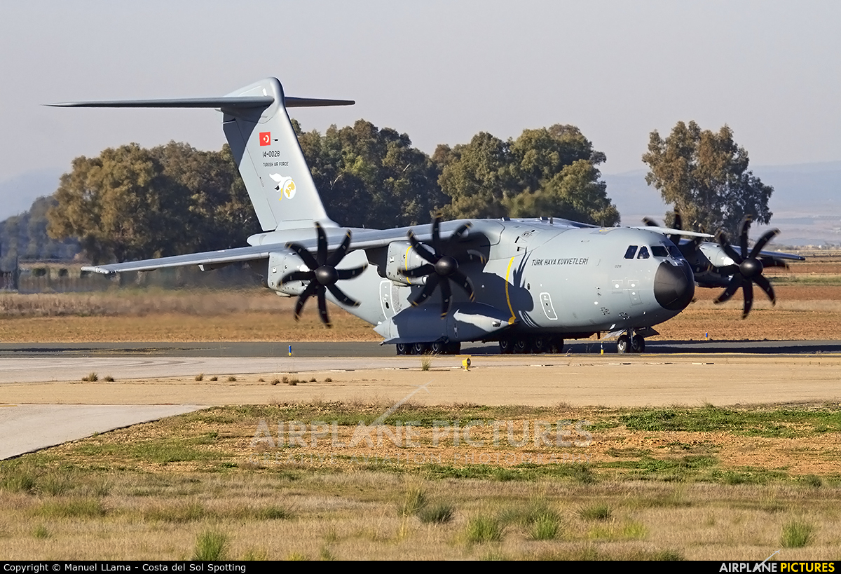 Turkey - Air Force 14-0028 aircraft at Seville - San Pablo