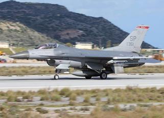 91-0351 - USA - Air Force General Dynamics F-16C Fighting Falcon