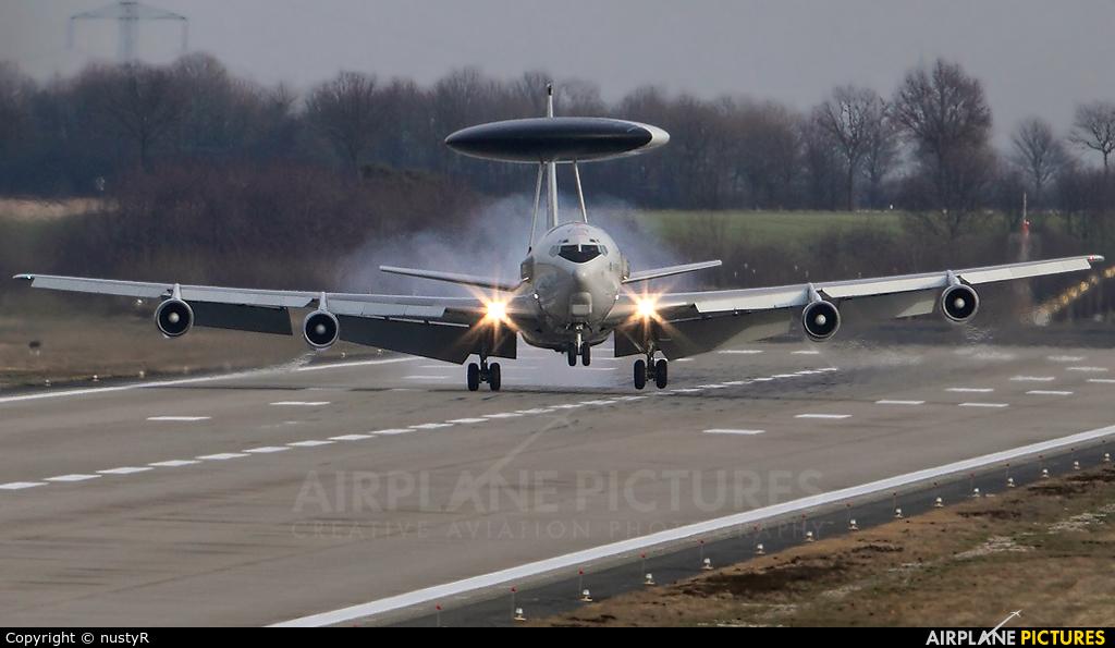 NATO LX-N90458 aircraft at Geilenkirchen