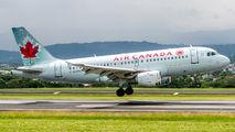 C-GBHM - Air Canada Airbus A319 aircraft
