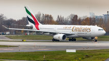 A6-EAQ - Emirates Airlines Airbus A330-200 aircraft