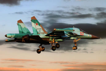 02 - Russia - Air Force Sukhoi Su-34