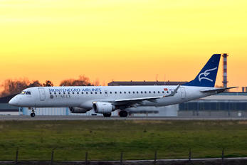 40-AOA - Montenegro Airlines Embraer ERJ-190 (190-100)