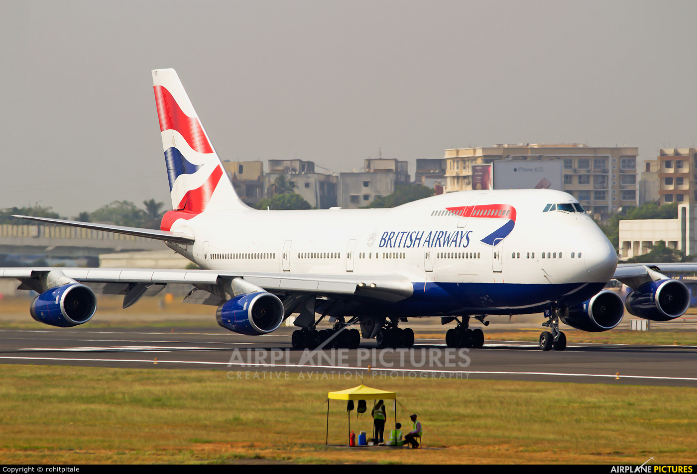 British Airways G-CIVO aircraft at Mumbai - Chhatrapati Shivaji Intl