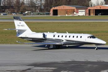 PH-HGT - Air Service Liege Cessna 680 Sovereign