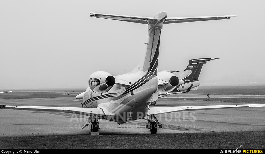 NetJets Europe (Portugal) CS-PHH aircraft at St. Gallen - Altenrhein