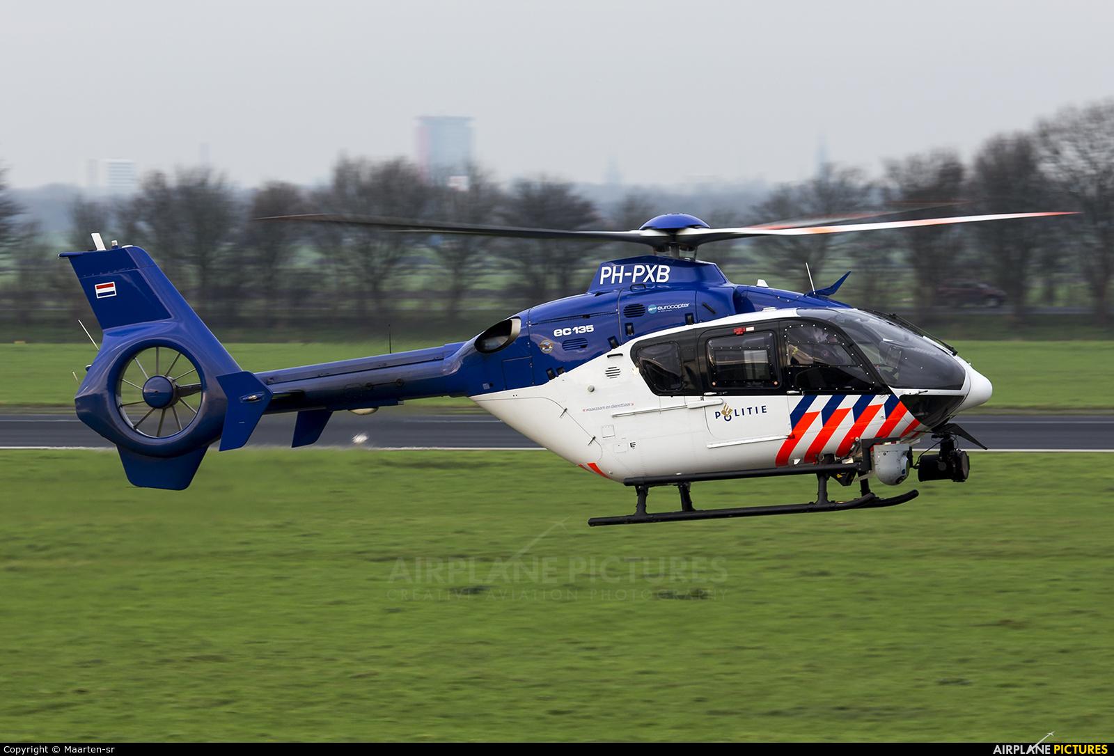 Netherlands - Police PH-PXB aircraft at Rotterdam