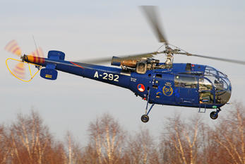 A-292 - Netherlands - Air Force Sud Aviation SA-316 Alouette III