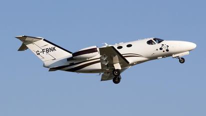 G-FBNK - TAG Aviation Cessna 510 Citation Mustang
