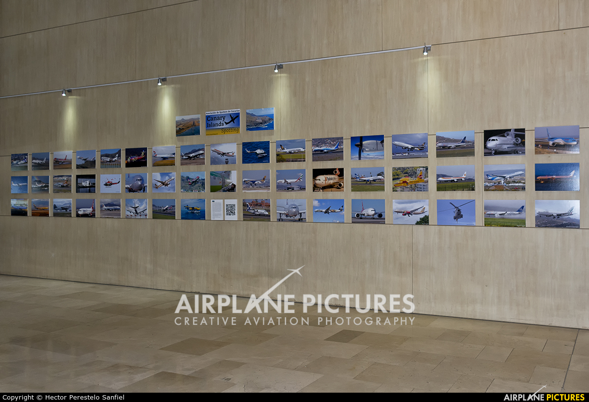 - Airport Overview - aircraft at Tenerife Norte - Los Rodeos