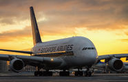 SV-SKM - Singapore Airlines Airbus A380 aircraft