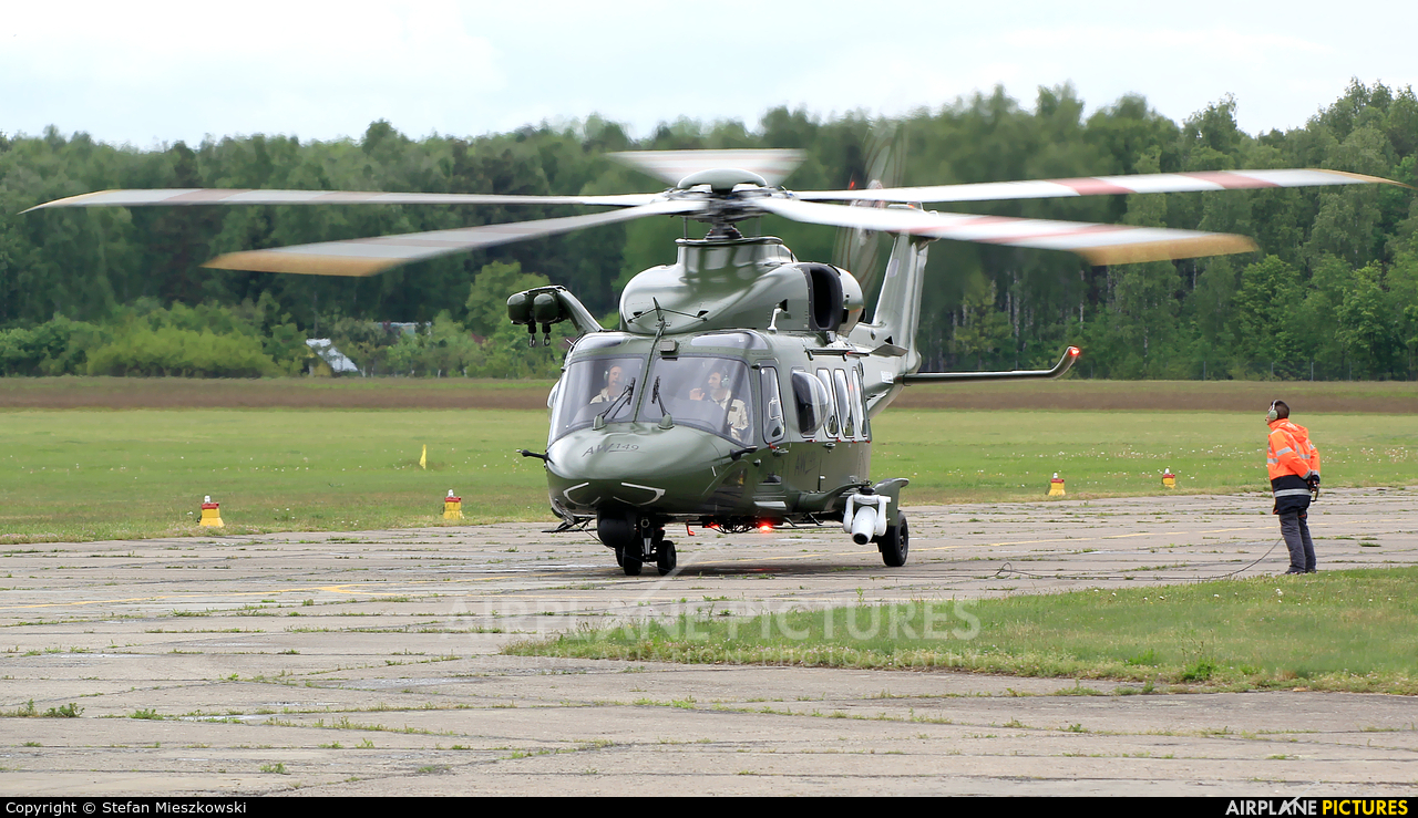 Agusta Westland CSX81890 aircraft at Warsaw - Babice