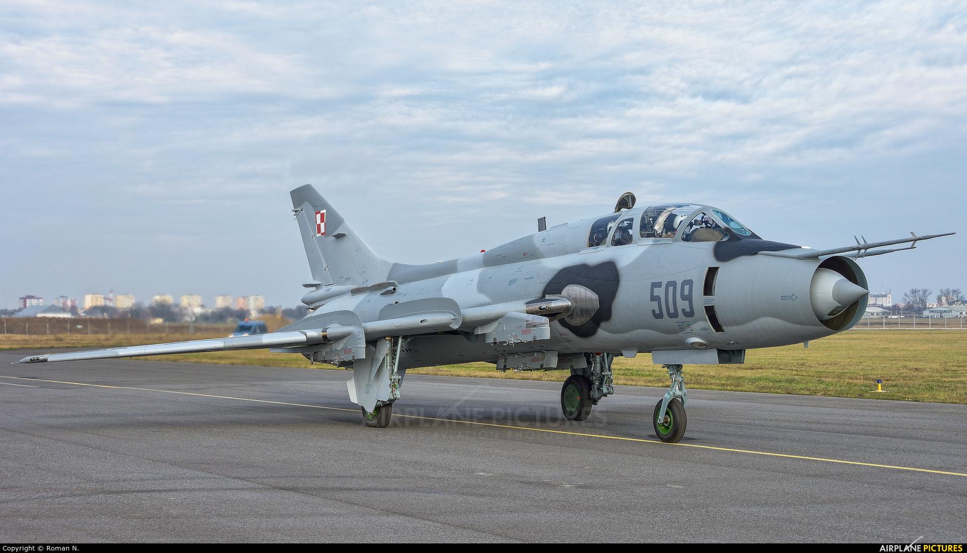 Poland - Air Force 509 aircraft at Bydgoszcz - Szwederowo