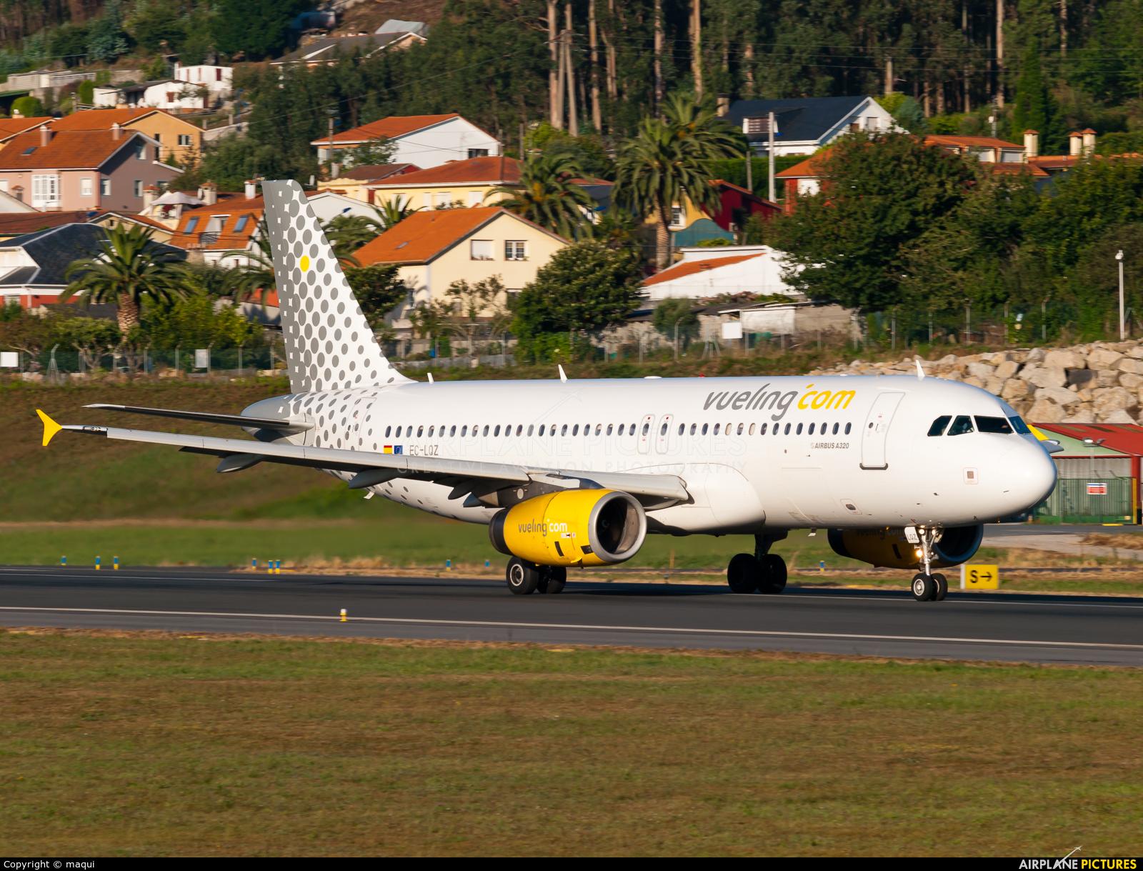 Vueling Airlines EC-LQZ aircraft at La Coruña